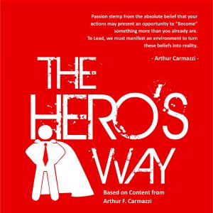 Hero's Way Brochure Cover Solid Color