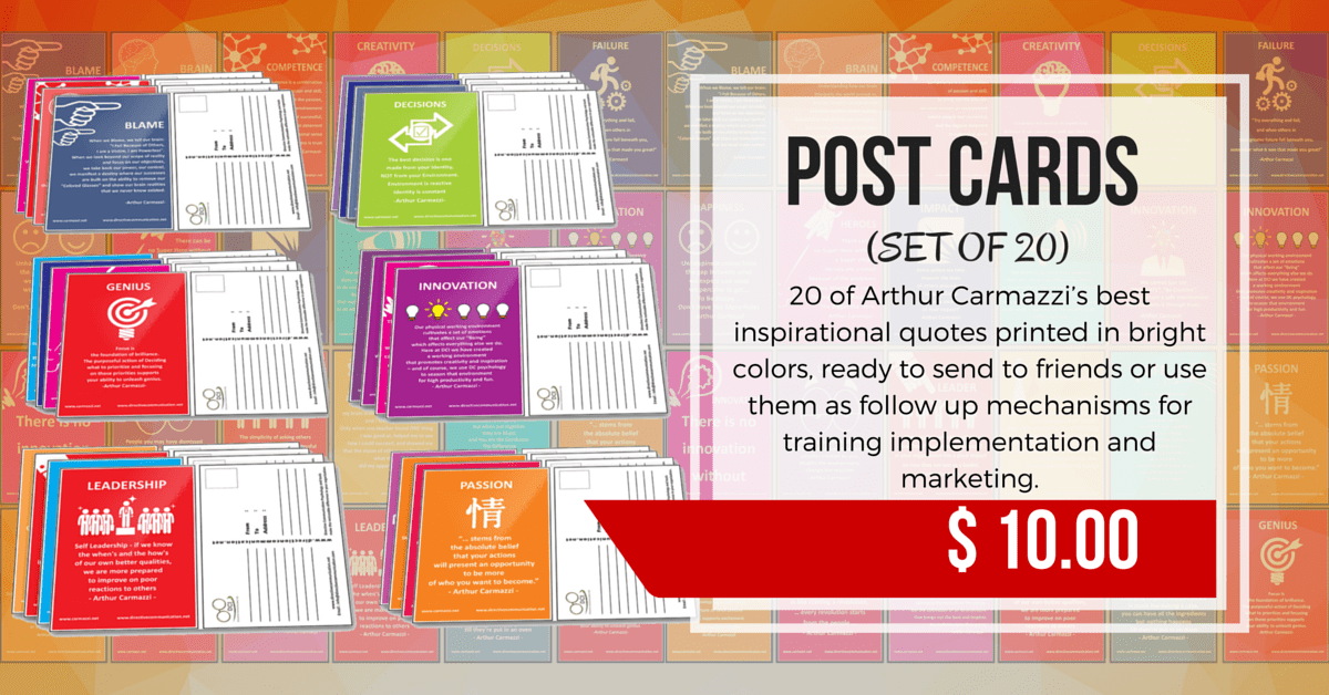 Train The Trainer Post Card