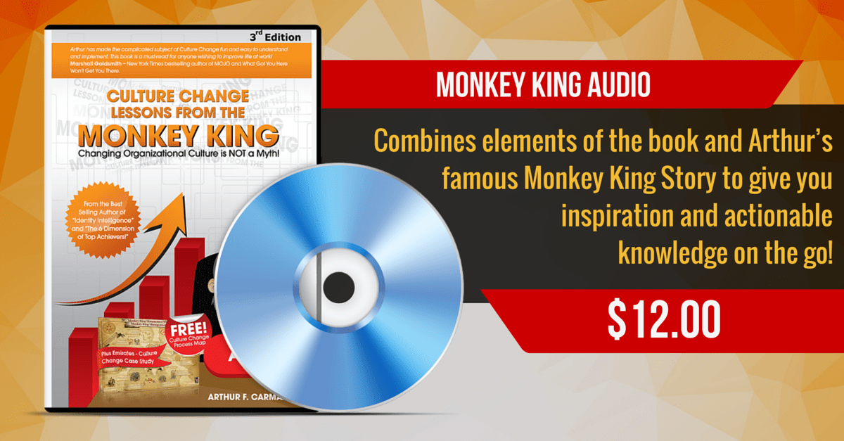 Organizational Culture Change Monkey King Audio