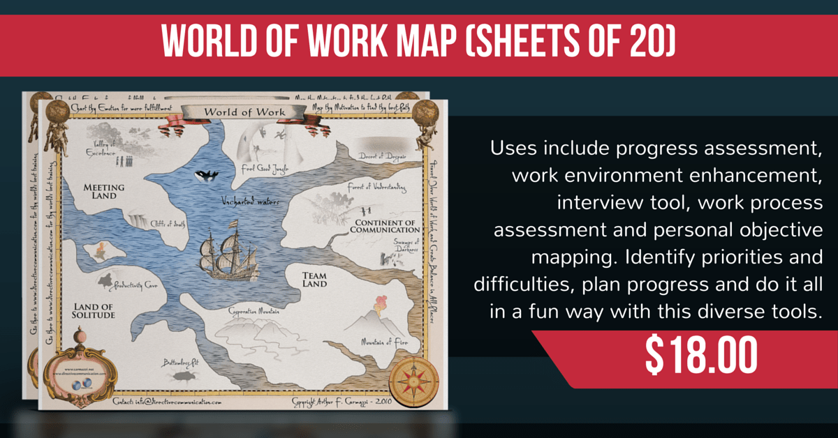 world of work map
