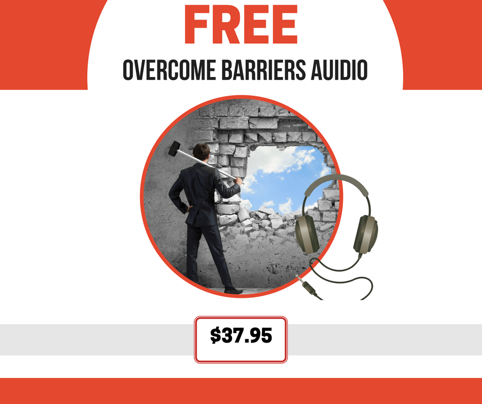 Overcome Barriers audio