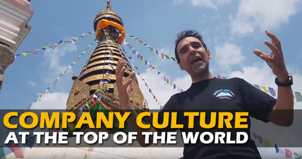 Knight's of Transformation: Lessons from the Monkey Temple at the top of the world