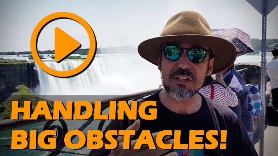 Knight's of Transformation: Obstacle lessons from Niagara Falls!